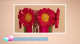 Vase With Shilpkar Floral Decoration