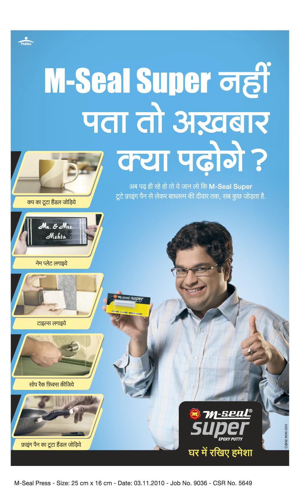 M Seal Hindi | Pidilite